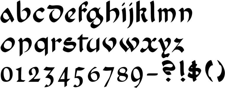 Callifonts 1900 39 S Calligraphy Fonts